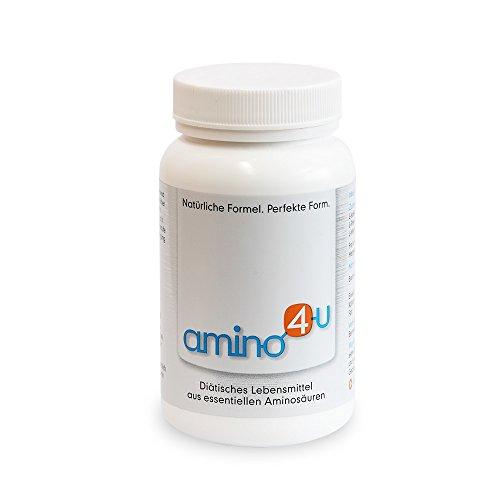 Amino4U alle 8 essentiële aminozuren spieropbouw doos, 120 g