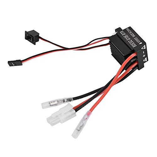 Drfeify 320A Brushed ESC Controlador de Velocidad Electrónico con Freno para Coche Barco RC