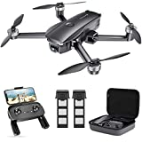 SNAPTAIN SP7100 4K GPS Drone with UHD Camera for Adults, Fly More Bundle with Extra Battery Pack