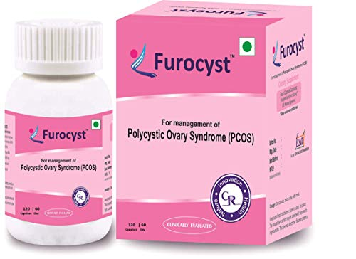 FUROCYST Patented & Clinically evaluated plant based supplement 120 Veg capsules (Pack of 1)