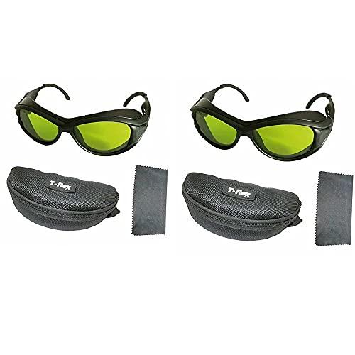 2 unidades 200nm-2000nm IPL óculos de proteção de proteção contra laser OD5 + CE UV400 BP-6006