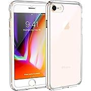 Syncwire Coque iPhone 8/7 Transparente - Housse de Protection en Souple Silicone [Supporte Le Chargement sans Fil] Étuis Antichoc pour iPhone 8 / iPhone 7 - UltraFlex Séries - Transparent
