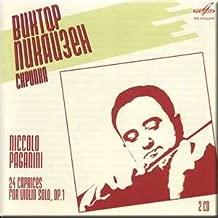 Paganini - 24 Caprices for Violin Solo, Op. 1 - Viktor Pikaizen (2 CD Set)