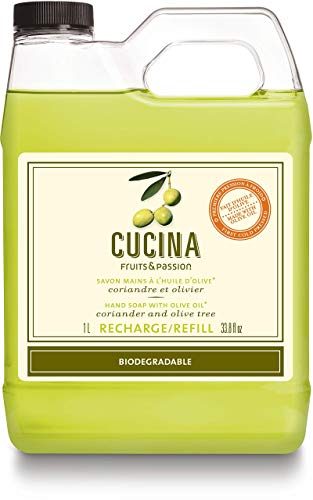 Cucina Coriander and Olive Tree 33.8 oz Purifying Hand Wash Refill