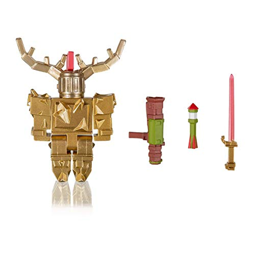 Limited Celebrity Collection - Fantastic Frontier: Gold Corrupted Knight Figure Pack with Exclusive Virtual Item