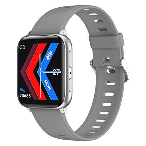 LAB A2S Smart Watch HD Grabación De HD Ritmo Cardíaco Sangre Oxygen Monitoring Es Adecuado para Android iOS Bluetooth Music Reproducción Multi-Sport Pulsera Hombres Y Mujeres,A