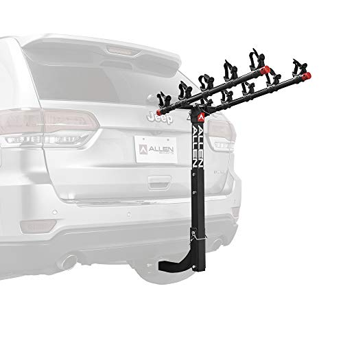 Allen Sports Deluxe 5-Bike Hitch Mount Rack, Model 552RR-R