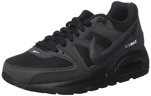 Nike Air Max Command Flex, Scarpe da Ginnastica Basse Unisex - Bambini, Nero (Black/Anthracite/White), 40 EU