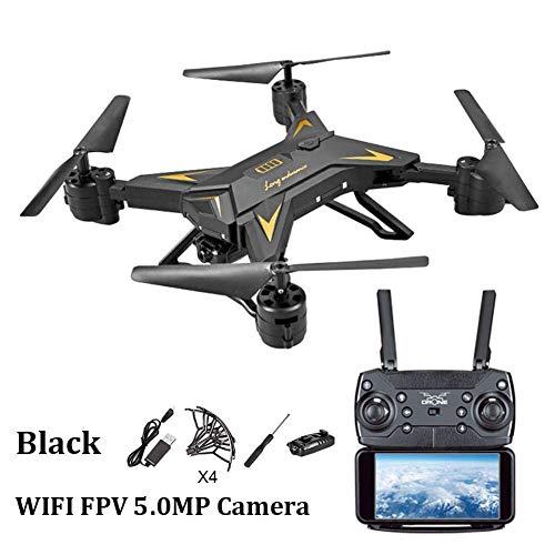 Quadcopter, Aviones De Control Remoto - Aviones De Cuatro Ejes con Control De Altitud - KY601S Batería De Larga Duración - Transmisión De Imágenes WiFi - Drone De Fotos con Antena Plegable