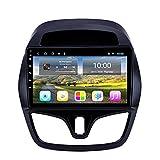TIANDAO Android 10.0 Radio Satelital para Automóvil Reproductor Multimedia Autoradio 2.5D Navegador GPS para Chevrolet Spark 2015-2018 Soporte WiFi Bluetooth/Control del Volante(Color:WiFi 2G+32G)