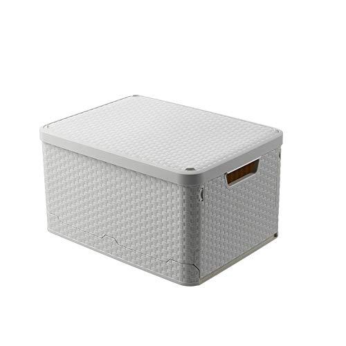 MRCOCO Aufbewahrungstasche Faltbare Aufbewahrungsboxen, Große Langlebige Für Bettwäsche, Kleidung, Decken, Kissen Quilt Saison Artikel Lagerung,Schöne Und Praktische Aufbewahrungsbox