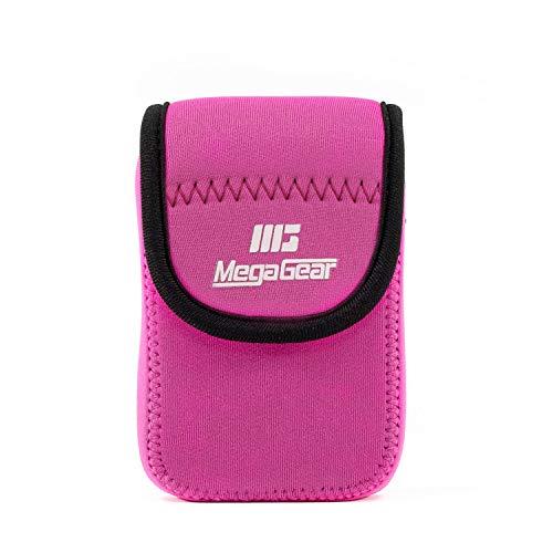 MegaGear MG1279 Estuche para cámara fotográfica Carcasa compacta Rosa - Funda (Carcasa...