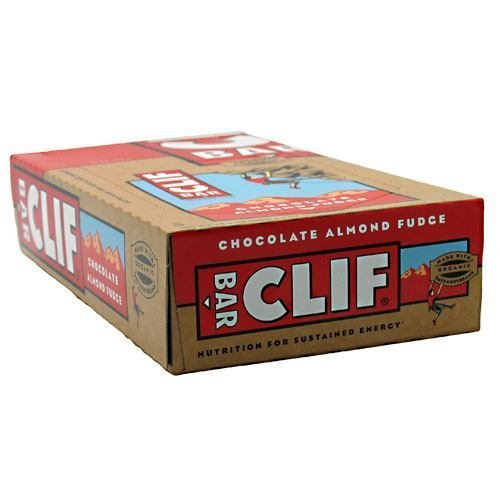Clif Bar Energy Bar Chocolate Almond Fudge - 12 - 2.4 oz (68 g) bars (28.8 oz [816 g]) by CLIF BAR, INC.