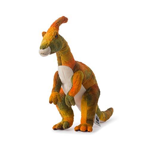 WWF Plüsch WWF00737, WWF Parasaurolophus (43cm), realistisch, Super weiches, lebensecht gestaltetes Plüschtier zum Knuddeln und Liebhaben, Handwäsche möglich