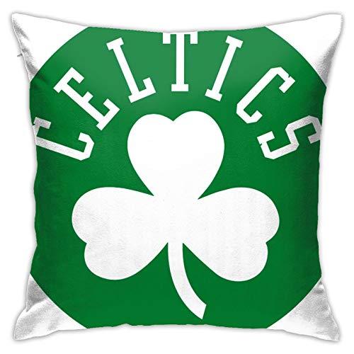 Celtic FC - Funda de cojín para sofá, decoración de vacaciones, 45,7 x 45,7 cm