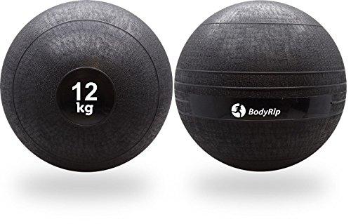 BodyRip - Balón Medicinal (12 kg, no rebota)