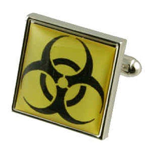 Química Biohazard Gemelos hombres Gemelos plata ley