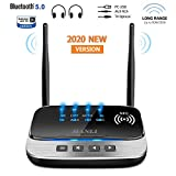 Best Bluetooth Range Extenders - Bluetooth 5.0 Transmitter, MANLI 3 in 1 Bluetooth Review