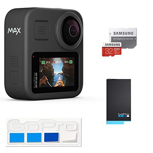 【GoPro公式限定】 GoPro MAX + 予備バッテリー + 認定SDカード32GB + GoPro公式限定非売品ステッカー【国...