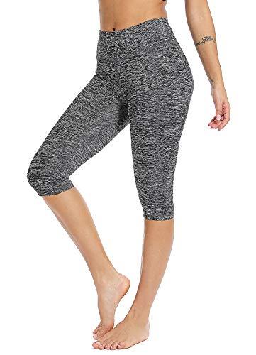 STARBILD Leggings 3/4 Mallas Pantalones de Alta Cintura Elástica Súper Transpirable Adelgazante Secado Rápido de Yoga Deportivas Leggins para Mujer