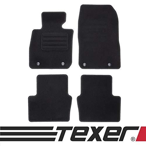 TEXER Textil Fußmatten Passend für Mazda CX-3 Bj. 2015- Basic