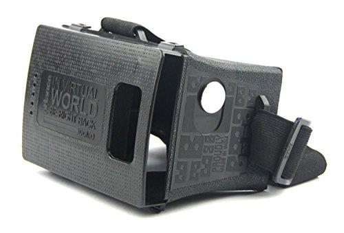 DOMO nHance VRF3 Universal Virtual Reality 3D VR and Video Headset (Black)