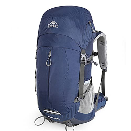 RatenKont 40L 50L Marco Interno Ultraligero Impermeable al Aire Libre Montañismo Senderismo Viajar Escalada Camping con Cubierta para la Lluvia 2019 Blue 30-40L
