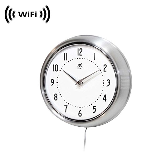 smart wall clock with spy camera