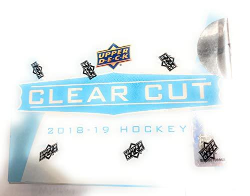 2018-19 Upper Deck Clear Cut Hockey Box