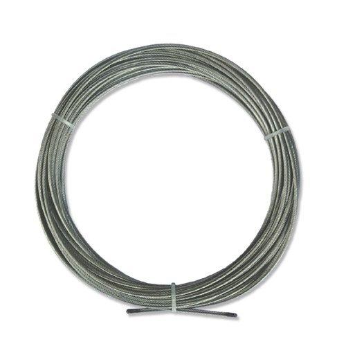 INTERDECO Spannseil/NIRO-Stahlseil in 5 Meter für Seilspanngarnituren