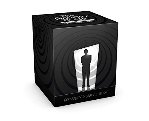 THE TWILIGHT ZONE - ORIGINAL SERIES - -60th Anniversary Blu-ray - Classic Series Collectible- Limited Edition Box Set of 5,000 numbered copies only- ! Last 500 sets available now !