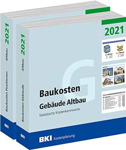 BKI Baukosten Gebäude + Bauelemente Neubau 2021 - Kombi Teil 1-2: Statistische Kostenkennwerte
