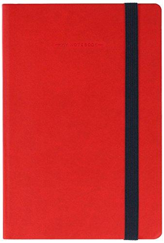 Legami MYNOT0052 Taccuino, 12.5 x 18 cm, Rosso