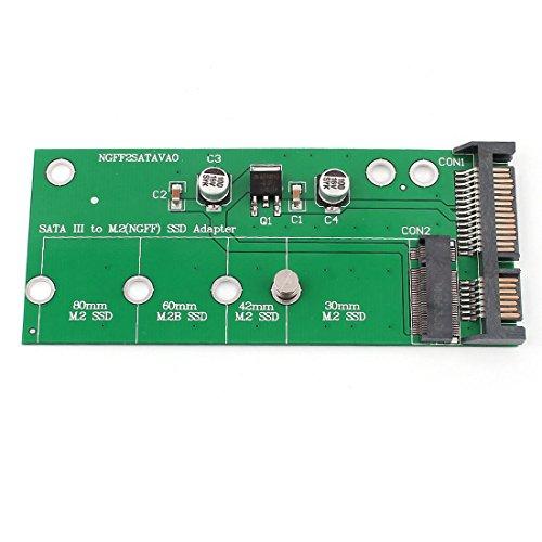 Aexit SATA III auf 67pin B M.2 NGFF SSD - Konverteradapter für DOS / Win7 / Linux (4514264b56d128355706ec8a33a1d115)