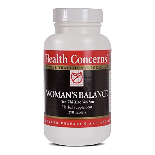 Health Concerns - Woman's Balance - Bupleurum and Peony Formula Chinese Herbal Supplement - Dan Zhi Xiao Yao Wan - PMS Support - with Bupleurum Root - 270 Tablets per Bottle