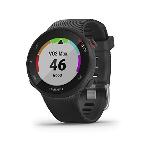 Why Should You Buy Garmin Forerunner 45s, 39MM Easy-to-Use GPS Running Watch with Garmin Coach Free ...