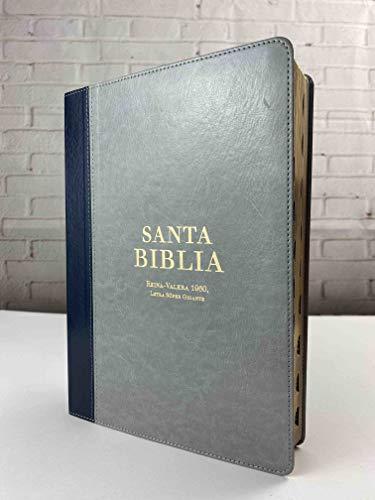 Biblia Reina Valera 1960 Letra Súper Gigante para Facilitar Lectura Con Indice...