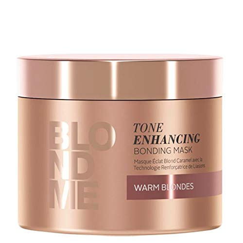 Schwarzkopf Professional BlondMe Enhancing Warm Blondes Mask, 1er Pack (1 x 200 ml)