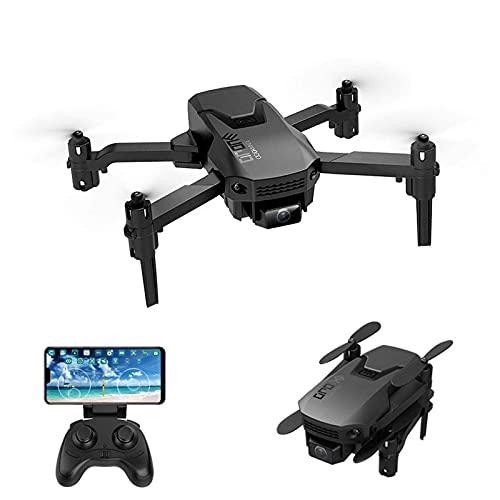 Mini Wifi FPV Pieghevole 4K Drone professionale Pieghevole Atterraggio con un clic Trasmissione in tempo reale Elicottero Controllo app Traiettoria Regolazione velocità volo Quadcopter Giocattoli Re