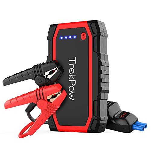 TrekPow A18 Booster Batterie - Jump Starter 800A, Démarreur de Voiture Portable (Jusqu'à...