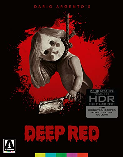 Deep Red UHD (2-Disc Limited Edition) [4K Ultra HD] [Blu-ray]