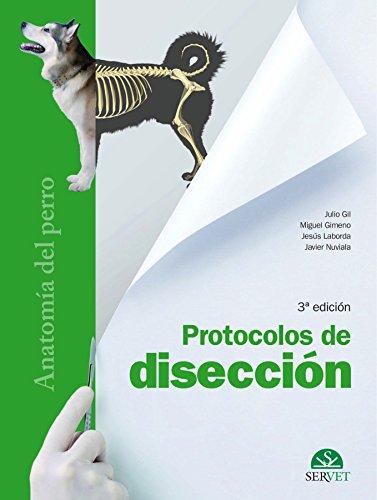 Protocolos de disección. Anatomía Del Perro - Libros De veterinaria - Editorial Servet