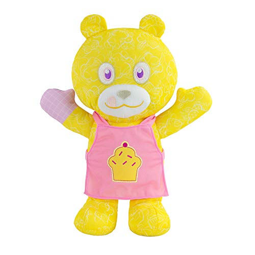 Doodle Bear The Original Chef 14'' Plush Toy with 3-Ct. Washable Marker Set, Yellow