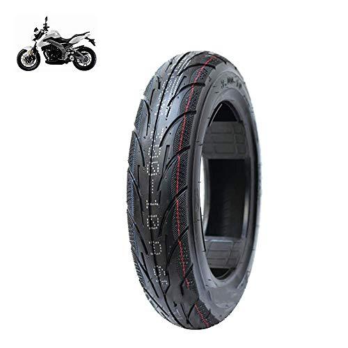 JYCTD Neumáticos de Scooter eléctrico, neumáticos de vacío 3.00-10, líneas de Drenaje Antideslizantes, Amplia Resistencia al Desgaste, Resistencia a los pinchazos, Accesorios de Motocicleta