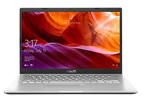 ASUS VivoBook 14 X409FA-EK555T Intel Core i5 8th Gen 14-inch FHD Compact and Light Laptop (8GB RAM/512GB NVMe SSD/Windows 10/Integrated Graphics/FP Reader/1.6 kg), Transparent Silver
