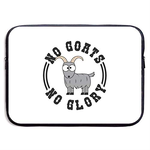 Cartoon Goat Laptop Sleeve Bag 13/15 Inch Notebook Computer, Water Repellent Polyester Protective Case Cover Theme Design Laptop