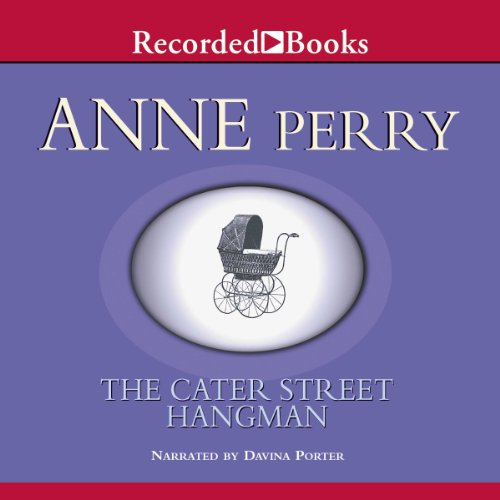 The Cater Street Hangman audiobook cover art