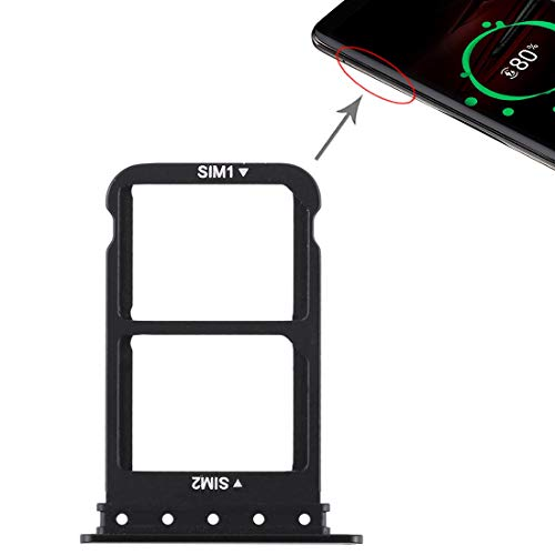 XYL-Q Cato Slot SIM-Karten-Behälter + SIM-Karten-Behälter for Huawei Mate-RS Porsche Design (schwarz) (Color : Black)