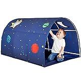 KLDYJA Jungen Und Mädchen Kinder Bett Zelt Tunnel Bett Markise Vorbereitet Für Kinder Blaues Zelt...