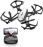 Potensic Drone avec caméra WiFi FPV Drone avec Caméra HD, D20 Fonction de Maintien de l'altitude, de capteur de gravité, Cadeau...